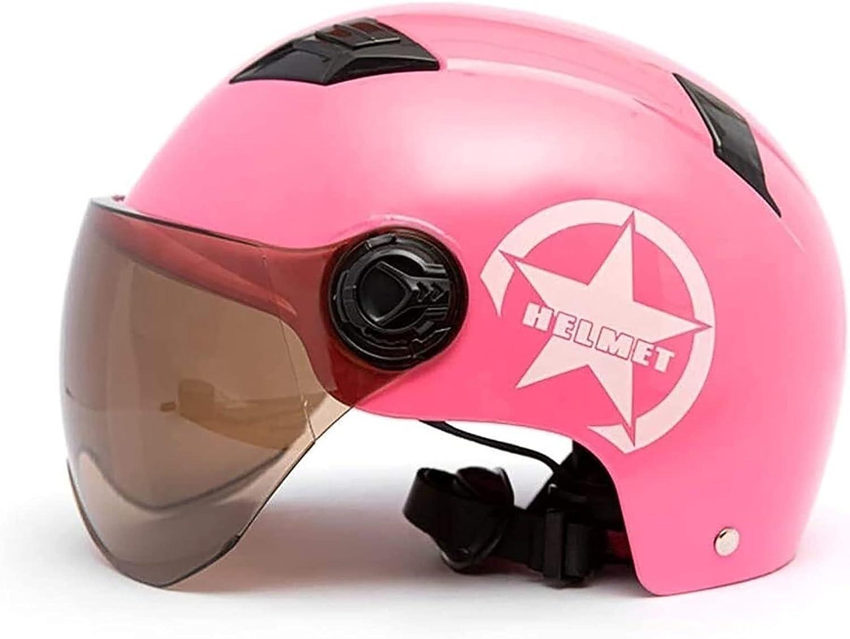 SPOTOR Retro Fashion Half Helmet Quality inspection Electric Sunscreen Vehicle Popular product Brea