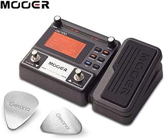 Mooer Guitar Effect Pedal ME GE 100 Dispositivo procesador de efectos múltiples con 2 púas de guitarra Getaria (GE 100)