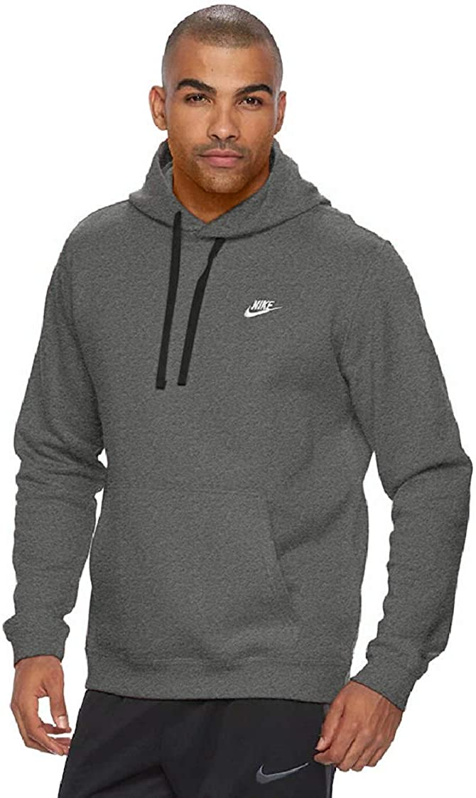 Nike Men's Sportswear Club outlet Hoodie Max 88% OFF Pullover