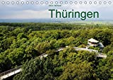 Thüringen (Tischkalender 2017 DIN A5 quer): Thüringens schönste Städte und Landschaften. (Monatskalender, 14 Seiten ) (CALVENDO Orte)