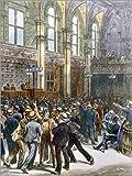 Poster 30 x 40 cm: New Yorker Börse 1893 von Everett
