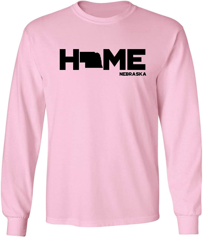 zerogravitee Nebraska Home Adult Long Sleeve T-Shirt