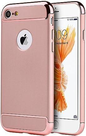 DreamWireless Funda Protectora para iPhone 7 / iPhone 8, Rose Gold