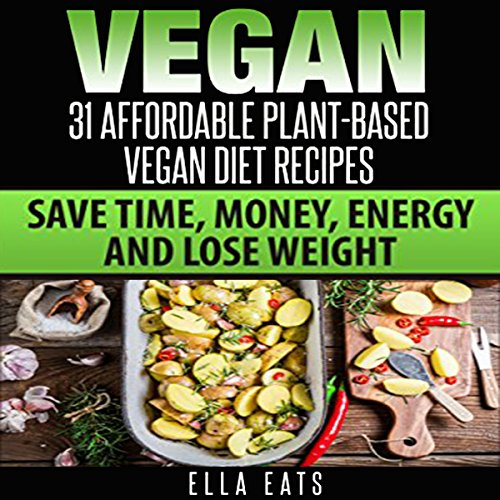 Vegan audiobook cover art