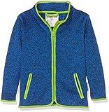Playshoes Kinder-Jacke aus Fleece, atmungsaktives und hochwertiges Jäckchen mit Reißverschluss, blau, 3-4 Years (Manufacturer Size:104)