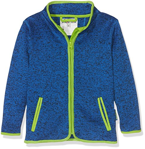Playshoes Kinder-Jacke aus Fleece, atmungsaktives und hochwertiges Jäckchen mit Reißverschluss, blau, 2-3 Years (Manufacturer Size:98)