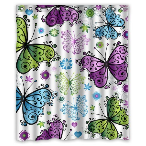 Best Butterfly Shower Curtains • Curtain It!