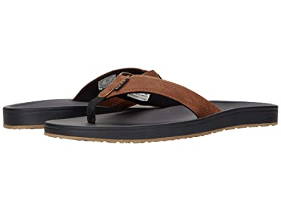 Reef Journeyer (Black/Brown) Men