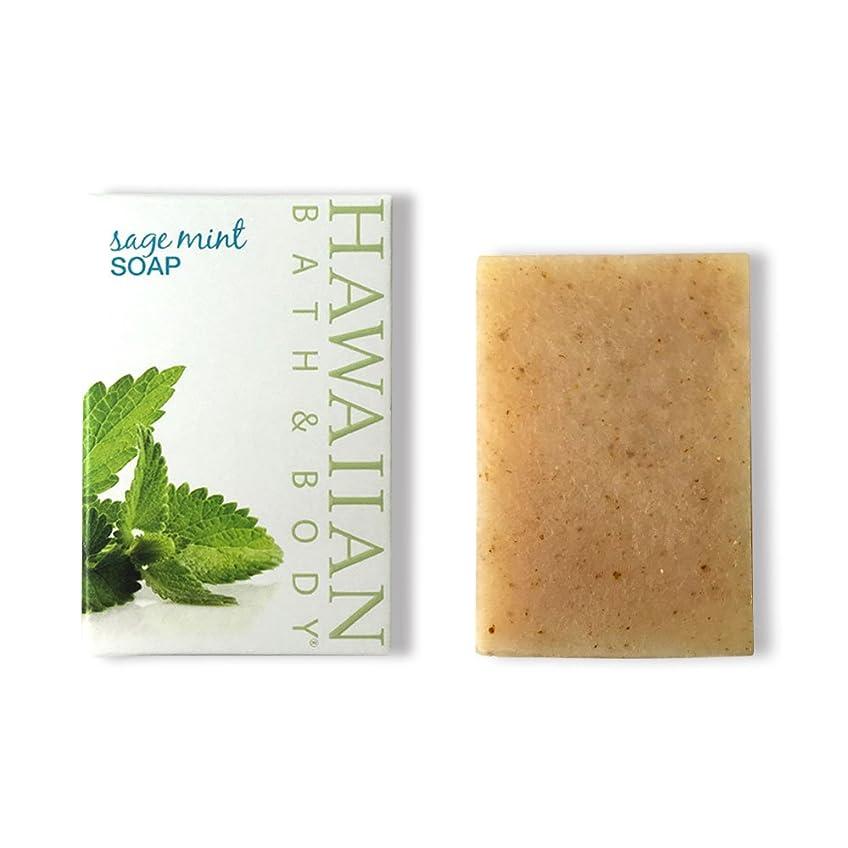 苦行作るコールドハワイアンバス&ボディ セージ?ミントソープ(オーシャンミント)( Sage Mint Soap )