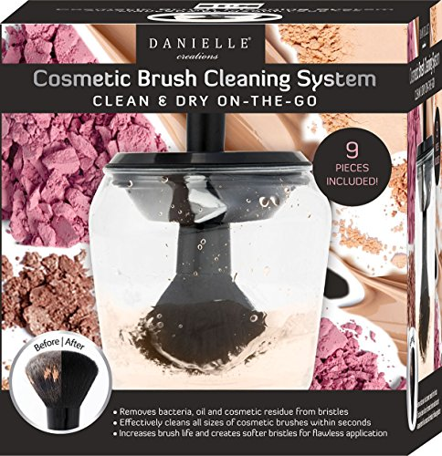 Danielle Creations Brush Cleaning System Clean & Dy On The Go
