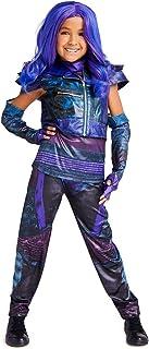 Disney Mal Costume for Kids - Descendants 3 Size Purple