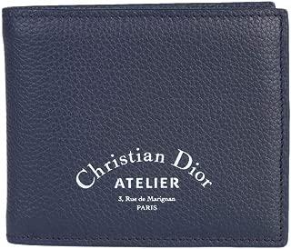 Luxury Fashion   Dior Mens 2ATBH027XXXCALFSKINH00E Blue Wallet   Season Permanent