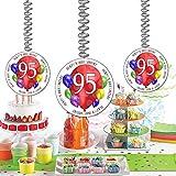 95TH Birthday Balloon Blast Dangler