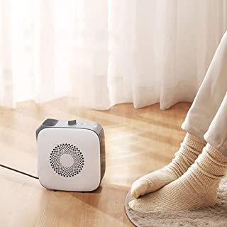 LQ&XL Mini Electric Heater, Ceramic Fan Heater Household Portable Handy Space Warmer Overheat and Tip-Over Protection for ...
