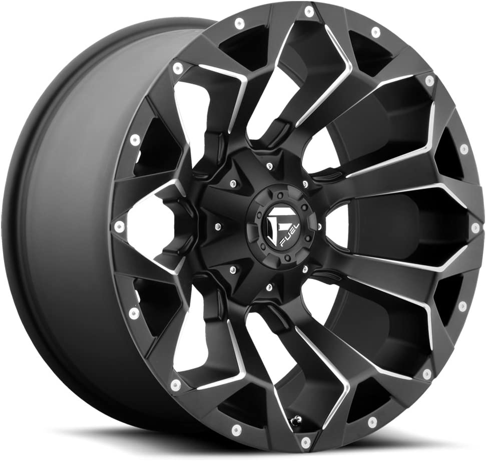 Fuel Offroad D546 ASSAULT BLACK Wheel Ranking TOP16 Painted 20 inc with New color x 12.