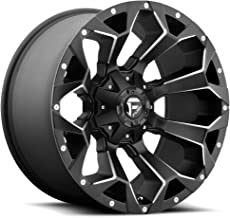 FUEL Assault NB -BLK MIL Wheel with Painted (20 x 9. inches /6 x 135 mm, -43 mm Offset)
