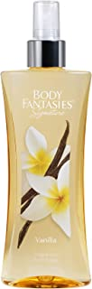 Body Fantasies Fragrance Body Spray, Vanilla, 8 Ounce