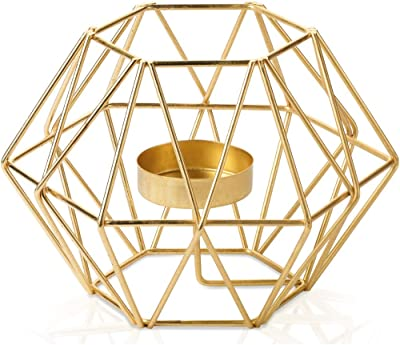 Cocodor Brushed Gold tealight Holder-Large, Wedding, Home Decoration, Gift, Party, Events