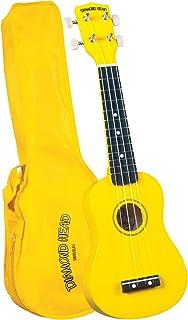 Diamond Head DU-104 Rainbow Soprano Ukulele - Yellow