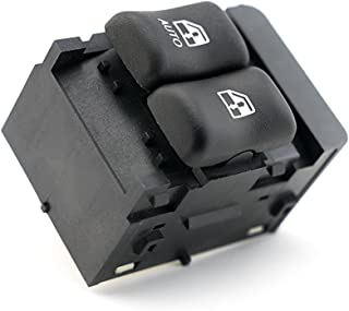 Sponsored Ad - Master Power Window Switch - Driver Side Door - Compatible with Chevy Cavalier 2000, 2001, 2002, 2003, 2004...