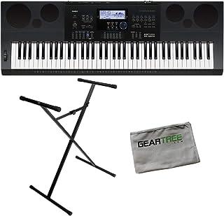 Casio WK6600 76 Note Portable Keyboard w/Built-In Speakers,