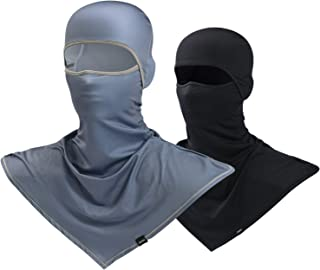 Balaclava Sun Protection Full Face Mask Motorcycle Helmet Liner Breathable Outdoor Sports Dust Head Hood for Men
