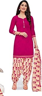 Pranjul Patiyala Special Fully Stitched (Without Lining)(Pink)