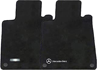 Mercedes-Benz Genuine OEM Carpeted Floor Mats CLK-Class Convertible 2004 to 2009 (Black)