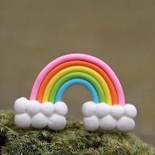 DIY Colorful Rainbow Cake Topper Birthday Wedding Cake Cloud Birthday Party Baking Decoration Supplies