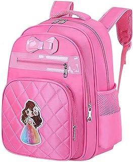 Girl Princess Water Resistant Lightweight school backpack Butterfly Kids Book Bag for School