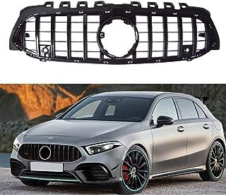 HBJP Accesorios de Coche DWCX 4 Piezas en ABS Niebla Delantera Luz Rejilla de Malla de Ajuste de la Cubierta Apta for Mercedes-Benz Clase A W177 2019