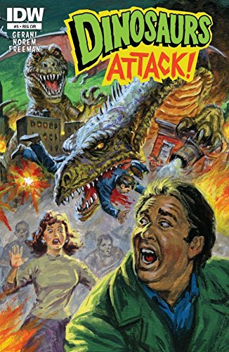 Dinosaurs Attack #5 (of 5) (English Edition)