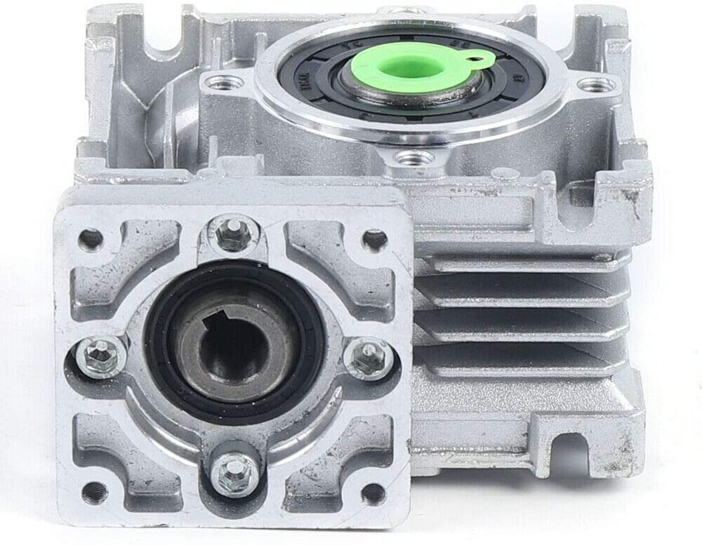 Nema23 50:1 Speed Ratio Worm Gear Gearbox Single Stepper Motor Reducer for Router Milling GUANG Worm Gear Speed Reducer