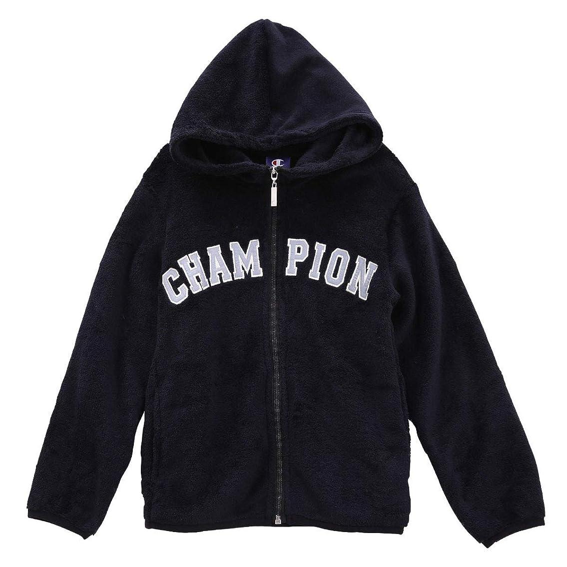 テストいつ(チャンピオン)Champion キッズ ジュニア 男の子 女の子 フリース フルジップパーカー モコモコ 子供服