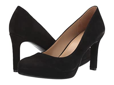 Naturalizer Teresa (Black Suede) Women