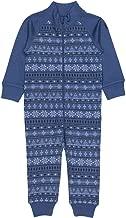 Polarn O. Pyret Scandi Flake Merino Wool Terry Romper (Baby)