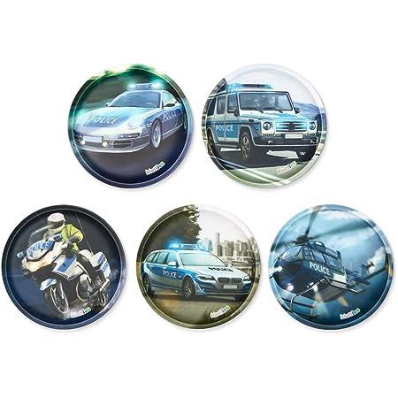 ergobag Klettie-Set - passend Pack/Cubo/Cubo Light/Ease/Mini, 5-teilig