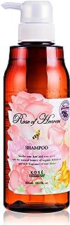 KOSE 高丝 玫瑰天堂 无硅磷洗发水 400毫升 (玫瑰香味)