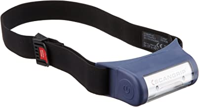 155 x 60 x 32 mm Scanprip 815408 Linterna de Trabajo LED Recargable UV-Form