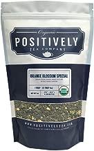 Positively Tea Company, Organic Orange Blossom Special, Oolong Tea, Loose Leaf, USDA Organic, 1 Pound Bag