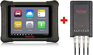 Autel MaxiSys Elite Automotive Diagnostic Tool - with Free MaxiScope MP408 Including Advanced J2534 ECU Coding & Programming for Benz & BMW with 2 Years Free Update