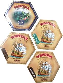 Tortuga Caribbean Rum Cake Assortment - 4oz Rum Cakes each