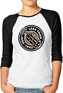 Women's Less Than Jake 1992 Cotton Raglan 3/4 Sleeve T-Shirt