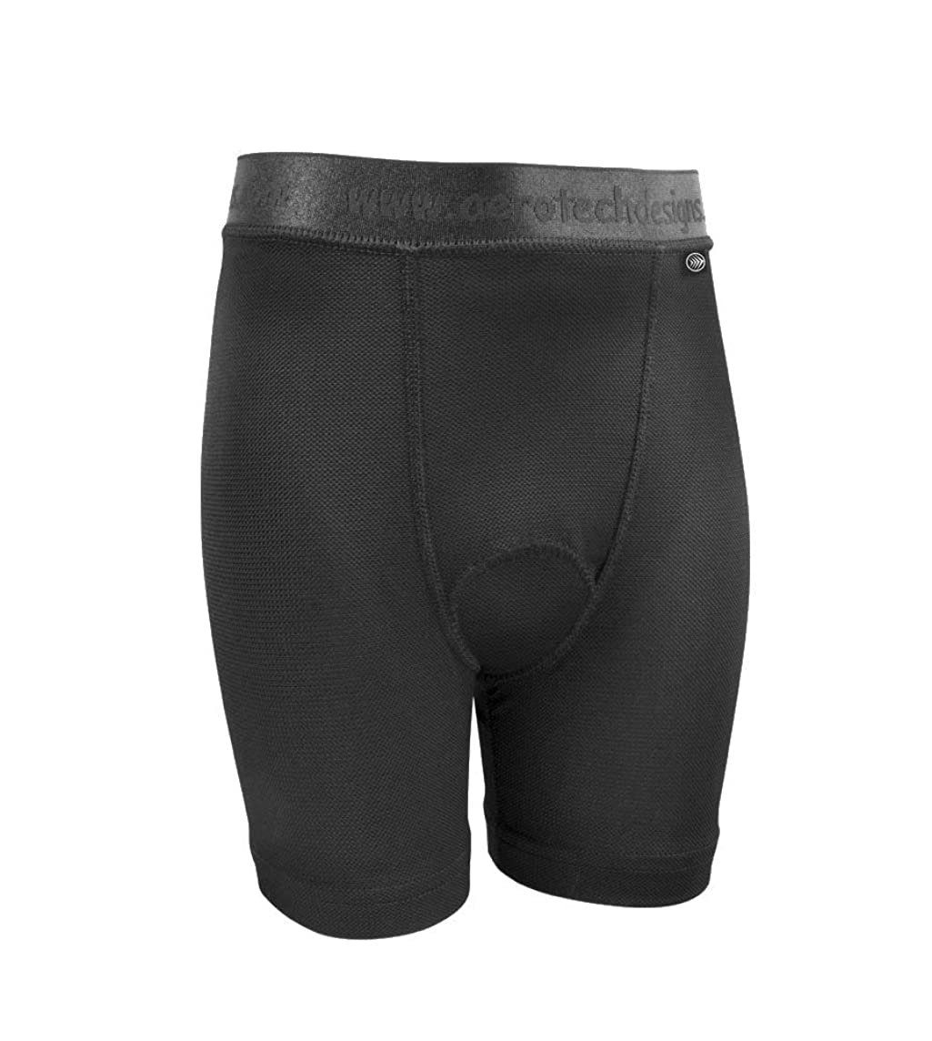 ATD Children's Padded Cycling Underliner Bike Shorts - Made in USA