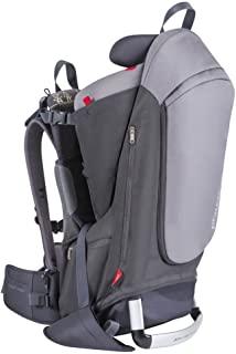 phil&teds Escape Child Carrier Frame Backpack, Charcoal – Height Adjustable..