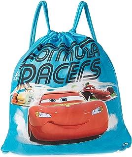 Disney Printed Drawstring Backpack for Boys - Nylon, Blue