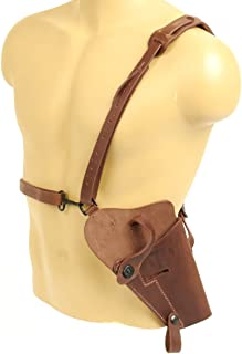 U.S. WWII .45 Cal M7 Brown Shoulder Holster- Real Leather & true lift-the-dot