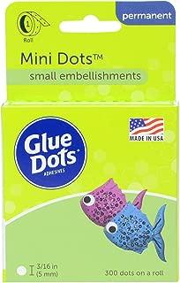 Glue Dots Mini Dot Roll, Contains 300 (.19 inch) Mini Adhesive Dots (32794-300)