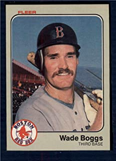 Baseball MLB 1983 Fleer #179 Wade Boggs RC Red Sox