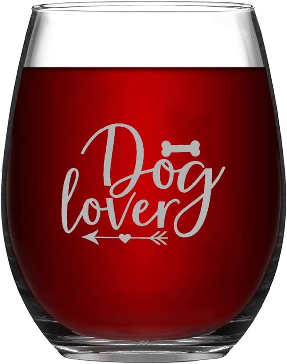 Funny Stemless Wine Glass Dog Weekly update Store Lover 11oz Ware Drink Pet Cup
